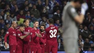 Porto 1 - Liverpool 4 (6-1 Liverpool au total des buts)