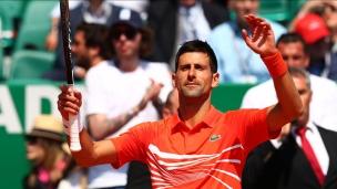 Djokovic domine Fritz à Monte-Carlo