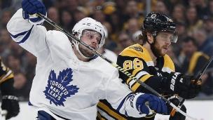 Leafs et Bruins ont resserré le jeu