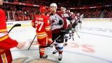 L'Avalanche du Colorado a éliminé les Flames de Calgary