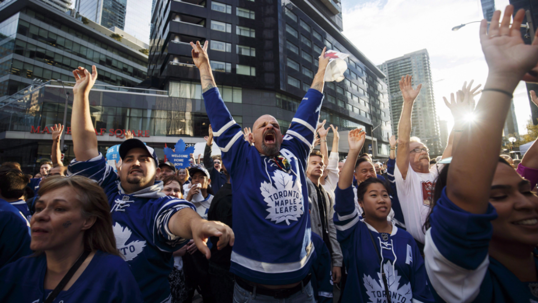Fans des Maple Leafs