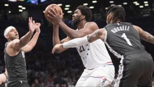 76ers 112 - Nets 108