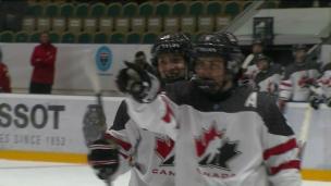 U18 : Bélarus 1 - Canada 11