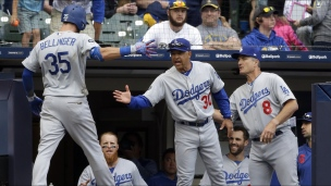 Dodgers 6 - Brewers 5