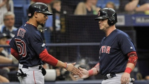 Red Sox 4 - Rays 3