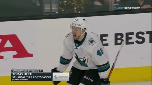 Hertl force la tenue d'un 7e match
