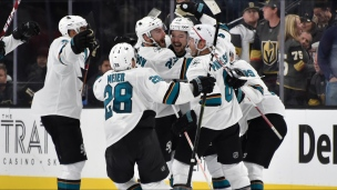 Sharks 2 - Golden Knights 1 (2e prolongation)
