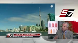 Montréal ou Toronto la meilleure ville de sport?
