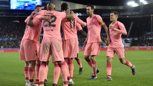 Alaves 0 - Barcelone 2