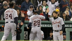 Tigers 7 - Red Sox 4