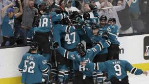 Golden Knights 4 - Sharks 5 (Prolongation)