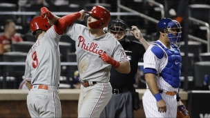 Phillies 6 - Mets 0