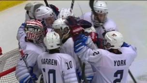 U18 : États-Unis 6 - Finlande 0