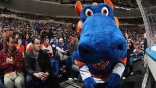 Sparky the Dragon, mascotte des Islanders de New York