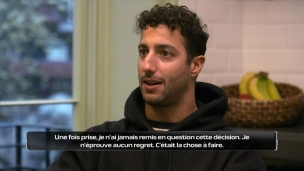 Ricciardo assume sa décision