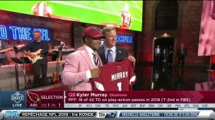 Les Cardinals sélectionnent Kyler Murray