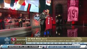 Nick Bosa est le choix des 49ers