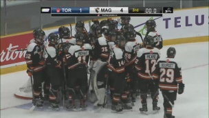 Coupe Telus : Young Nationals 1 - Cantonniers 4