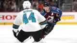 Nathan MacKinnon et Marc-Édouard Vlasic
