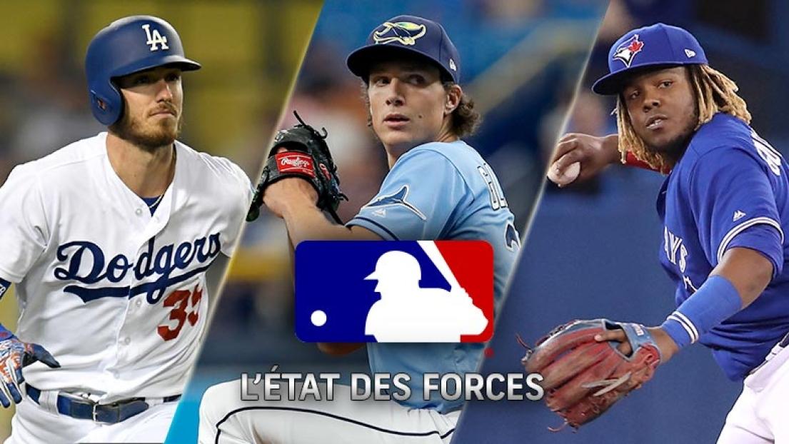 État des forces MLB 29 avril 2019