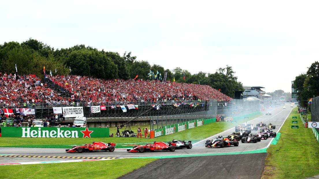 Le circuit de Monza