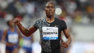 Semenya survole le 800 m à Doha