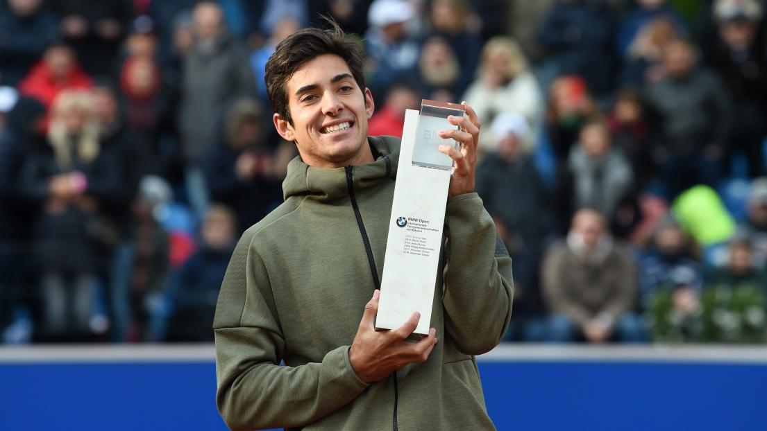 ATP Munich: Christian Garin remporte le tournoi de Munich