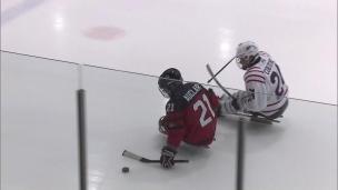 Parahockey : le Canada s'incline pour conclure le Défi sportif