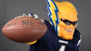 Boltman, mascotte des Chargers dans la NFL