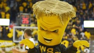 WuShock mascotte de NCAA