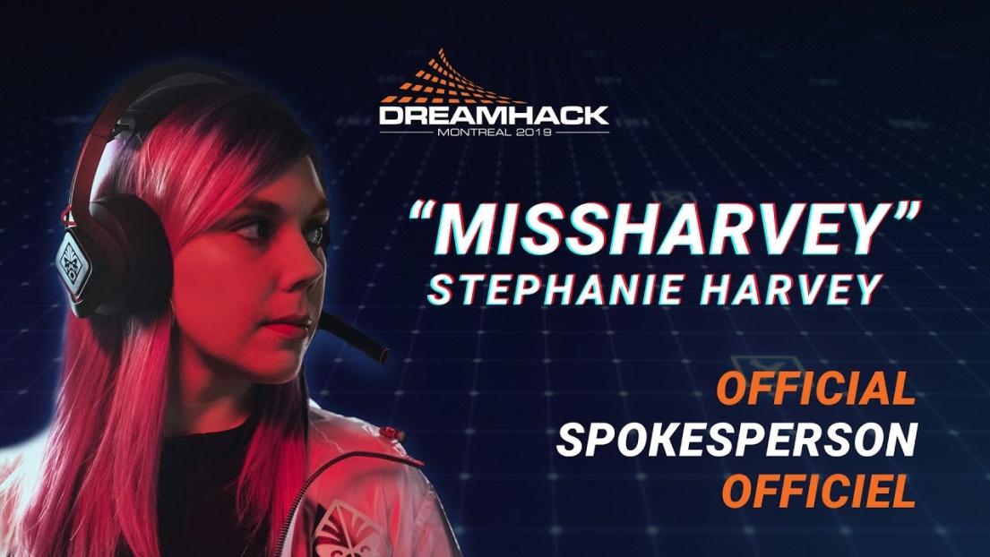 Le DreamHack sera de retour au stade Olympique avec missharvey