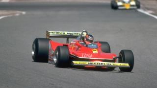 Gilles Villeneuve en 1979 au GP d'Espagne