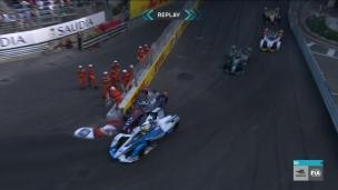 Vergne mène de bout en bout à Monaco