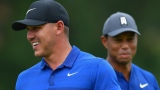 Brooks Koepka et Tiger Woods