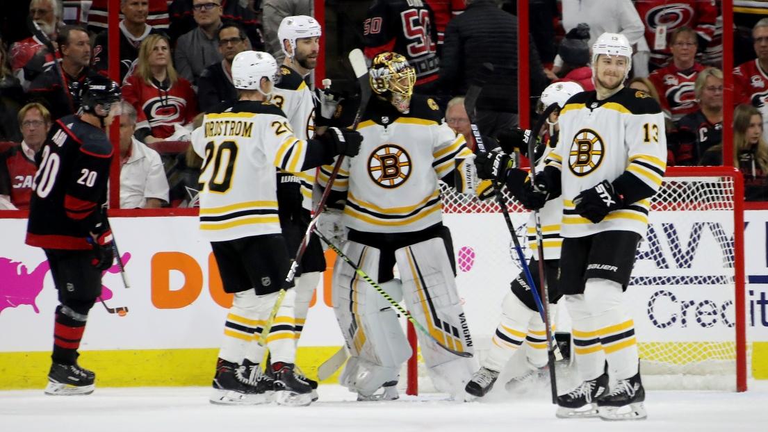 Les Bruins de Boston célèbrent