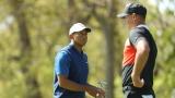 Tiger Woods et Brooks Koepka