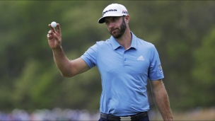 La 2e ronde de Dustin Johnson