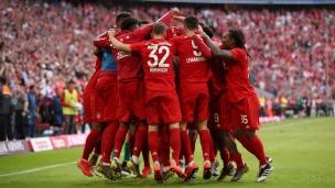 Bayern Munich 5 - Francfort 1