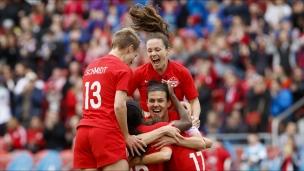 Soccer féminin : Mexique 0 - Canada 3