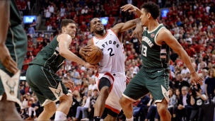 Bucks 112 - Raptors 118 (2e prolongation)