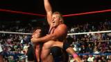 Owen Hart en action face à son frère Bret.