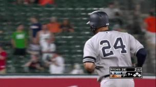Sanchez couronne la remontée des Yankees