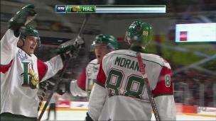 Morand : un 3e but sans riposte des Mooseheads