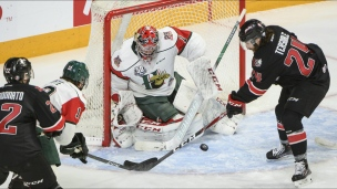 Mooseheads 3 - Huskies 4