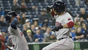 Red Sox 6 - Blue Jays 5 (13 manches)
