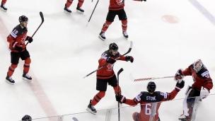 Pierre-Luc Dubois revient sur la fin de match folle entre le Canada et la Suisse