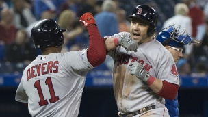 Red Sox 8 - Blue Jays 2
