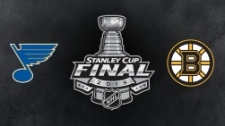 Image promotionnelle de la finale de la Coupe Stanley 2019