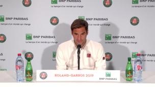 Federer heureux d'être à Paris en santé