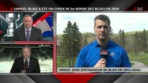 Yanick Jean discute de Samuel Blais